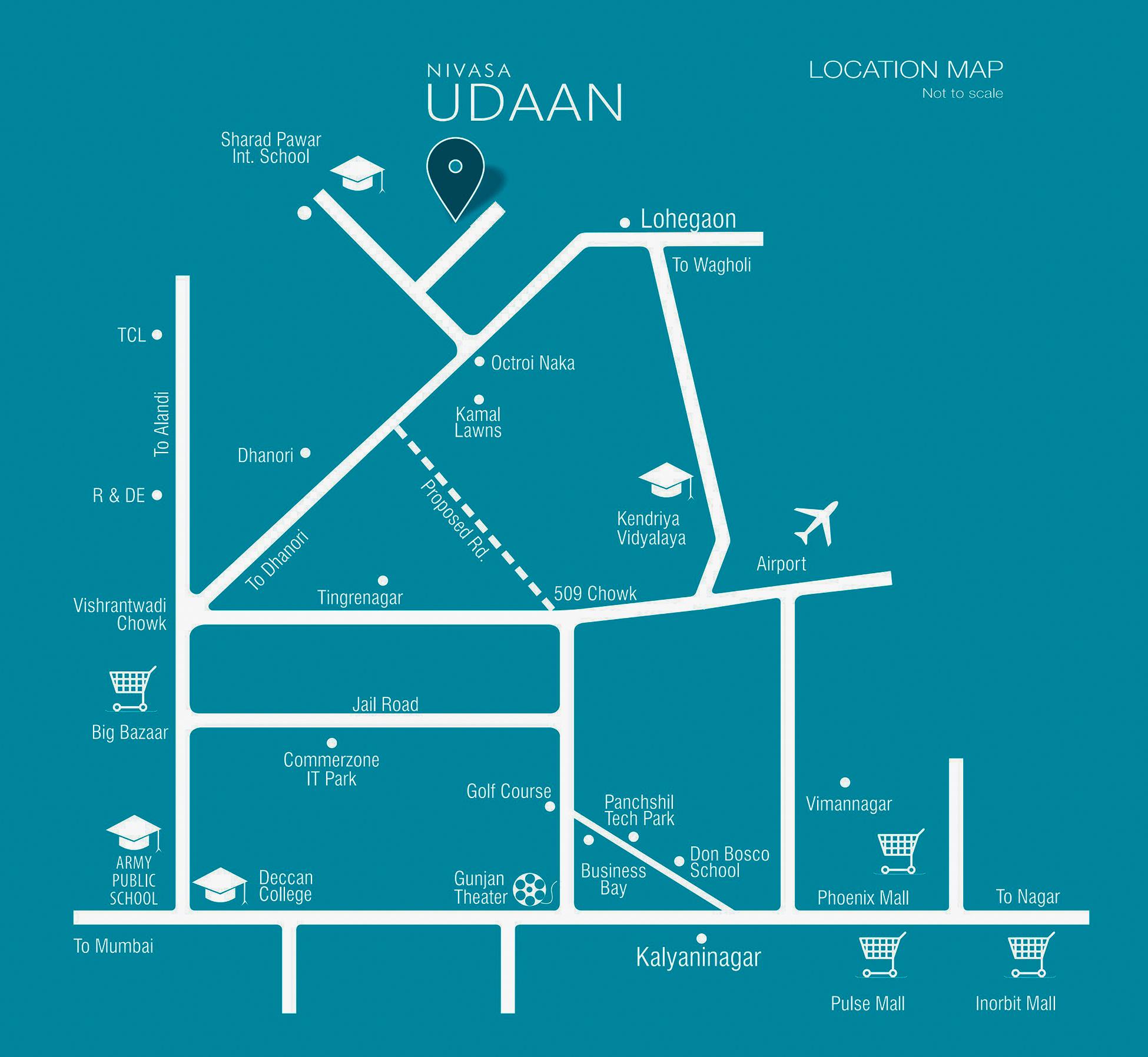 Nivasa Udaan - 1, 2, 3 BHK Affordable Homes at Lohegaon, Pune ...