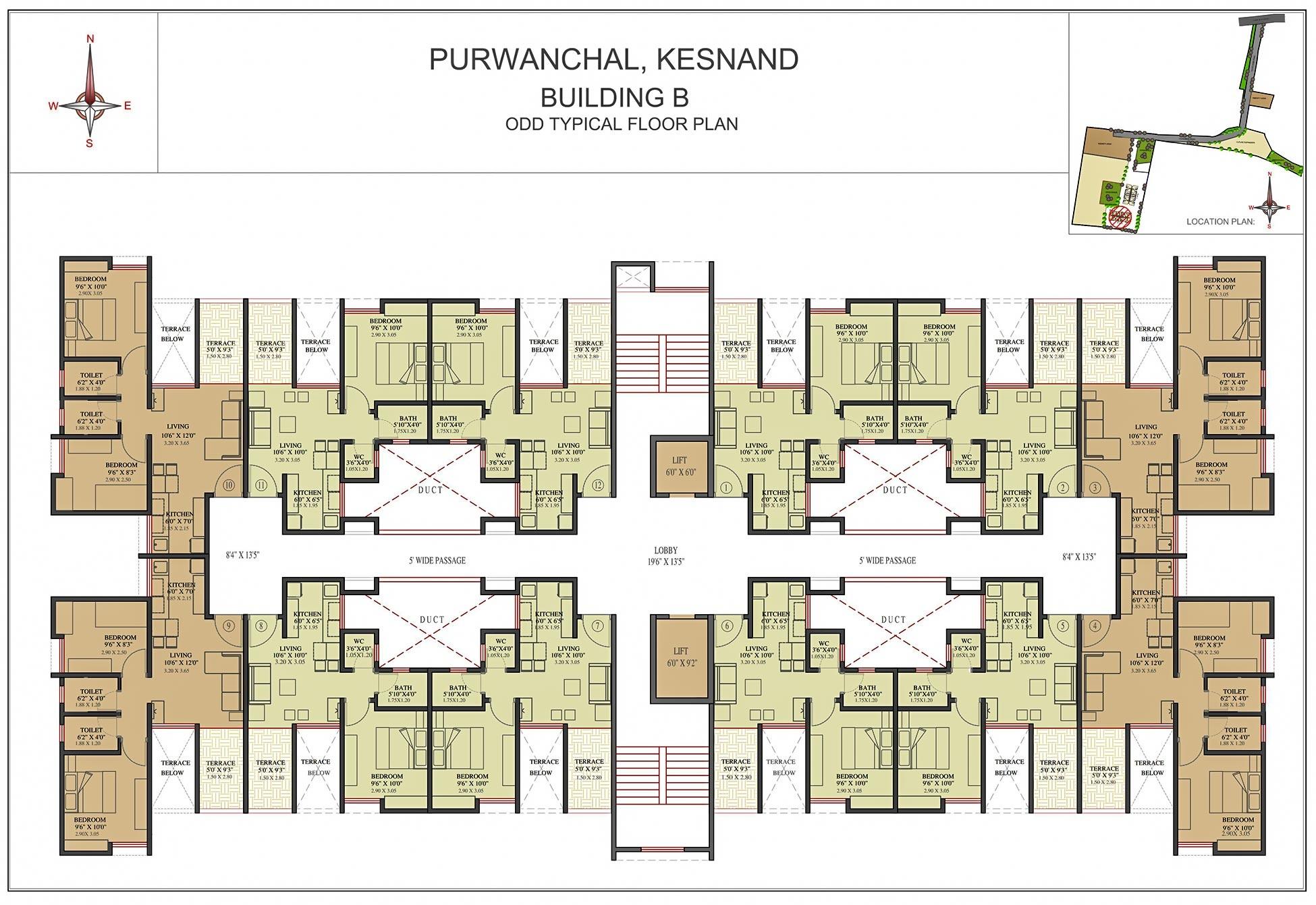 VTP Purvanchal - 1, 2, 3 BHK Affordable Homes at Wagholi, Pune ...